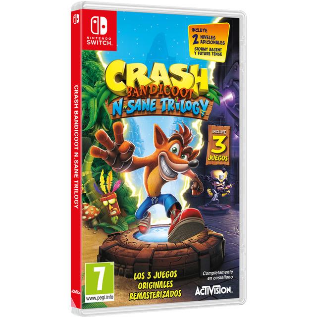 Crash Bandicoot N.Sane Trilogy (Físico, Nintendo Switch)