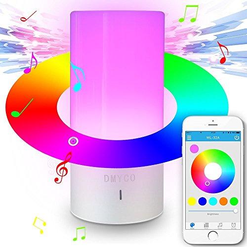 Lampara RGB con altavoz bluetooth solo 10,90€
