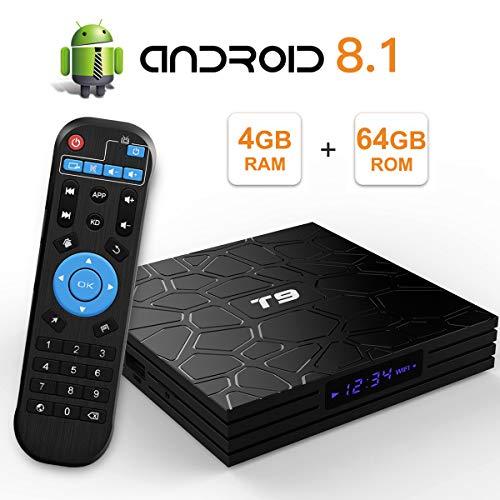 TV Box T9 4GB + 64GB Android 8.1