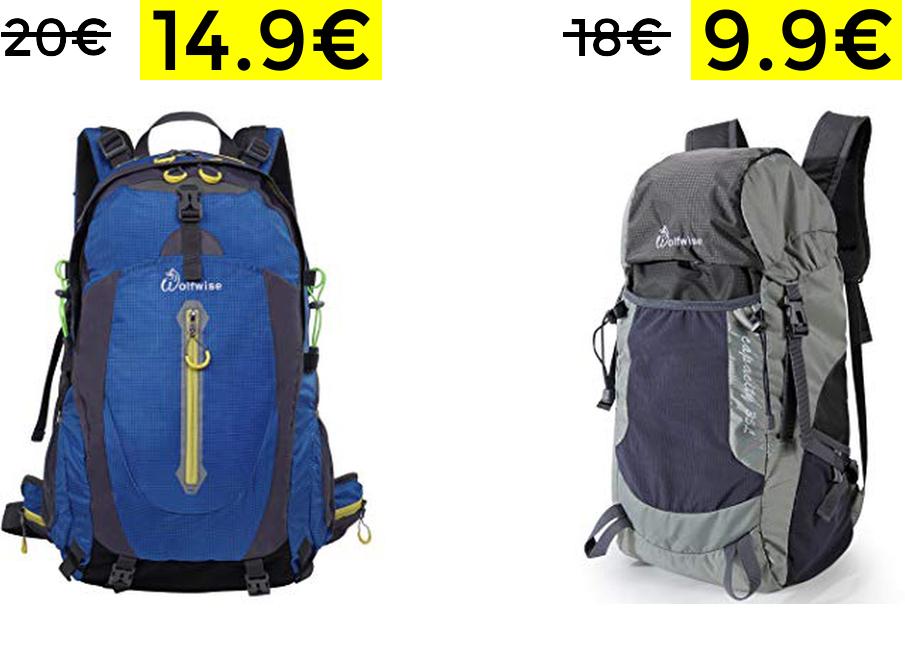 Preciazos en mochilas de senderismo (desde 9.9€)