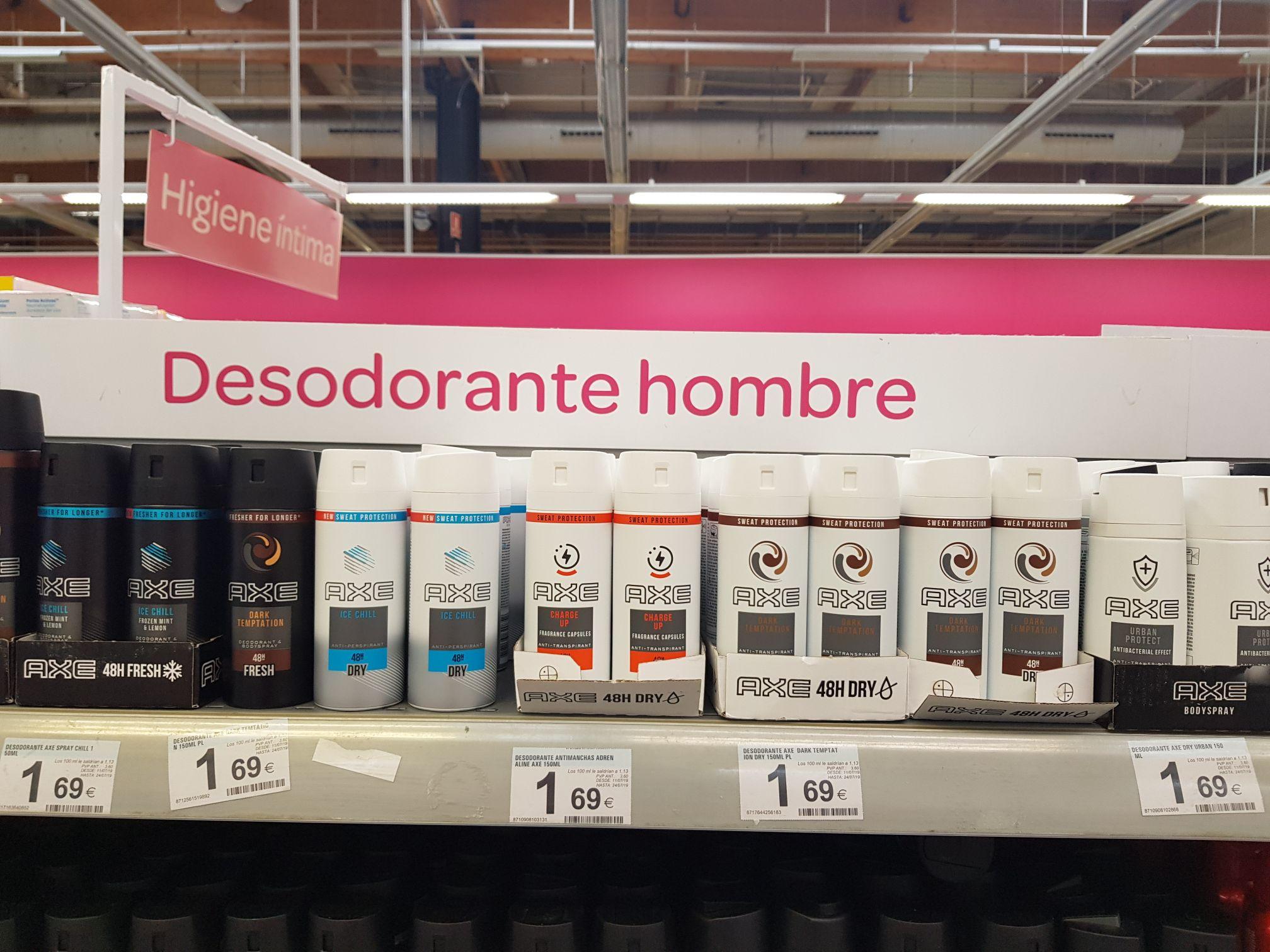 Desodorante axe todas las variedades