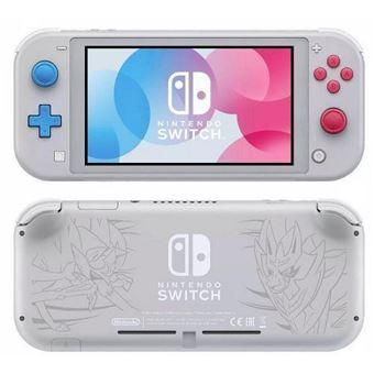 Nintendo Switch Lite - Ed. Limitada Zacian y Zamazenta para socios FNAC