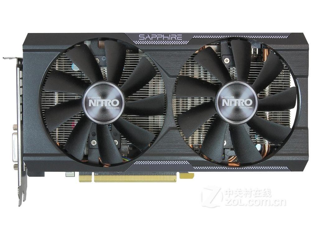 AMD Radeon R9 380 4GB usada (un poco más potente que la GTX 1050ti)