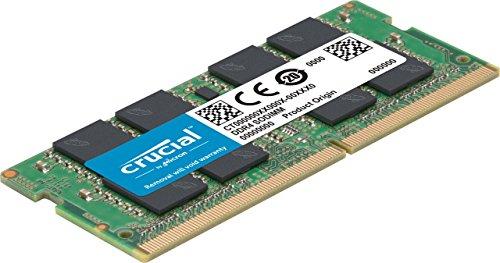 Crucial Memoria RAM 8Gb DDR4 SODIMM 2400Mhz para portatil