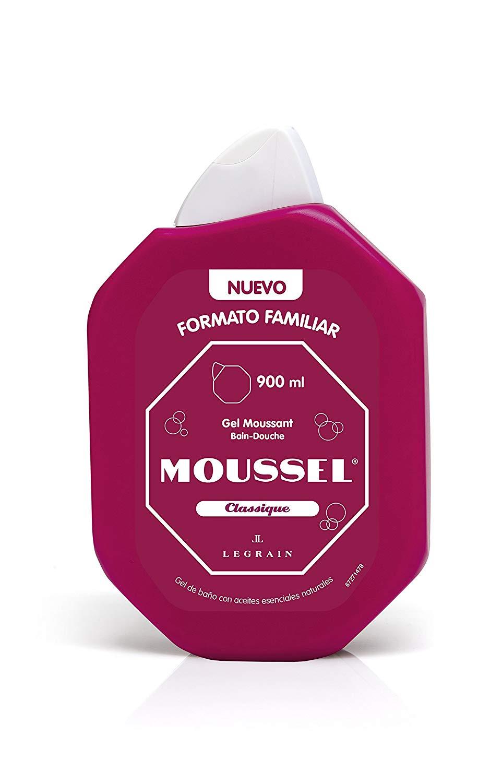 Pack de 4 Moussel Gel de Ducha Clasico de 900ml