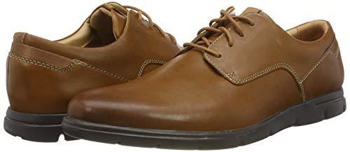 Zapatos de cuero Clarks Vennor Walk por tan sólo 37,76€ (Tallas 41, 41.5, 44, 44.5 y 45) Color Marrón