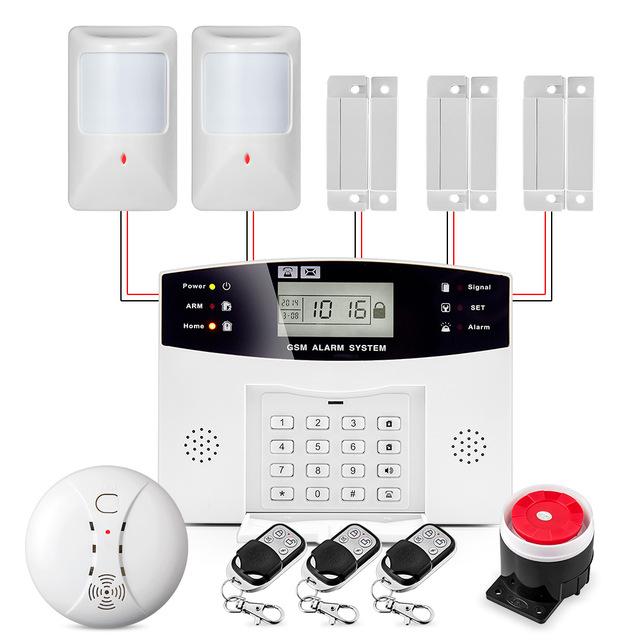 Completo Sistema de alarma GSM