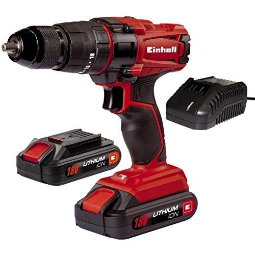 Taladro Einhell 18V 2 Baterías solo 79.9€