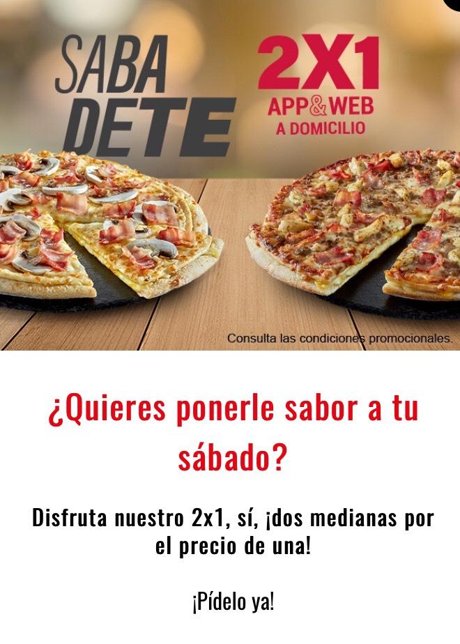 2x1 en Telepizza