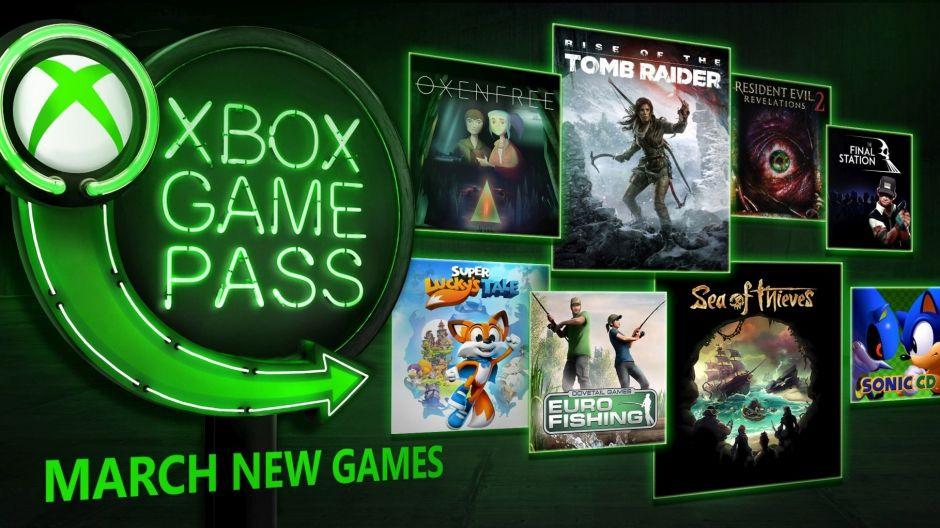 Nuevos juegos Marzo '18 Xbox Game Pass