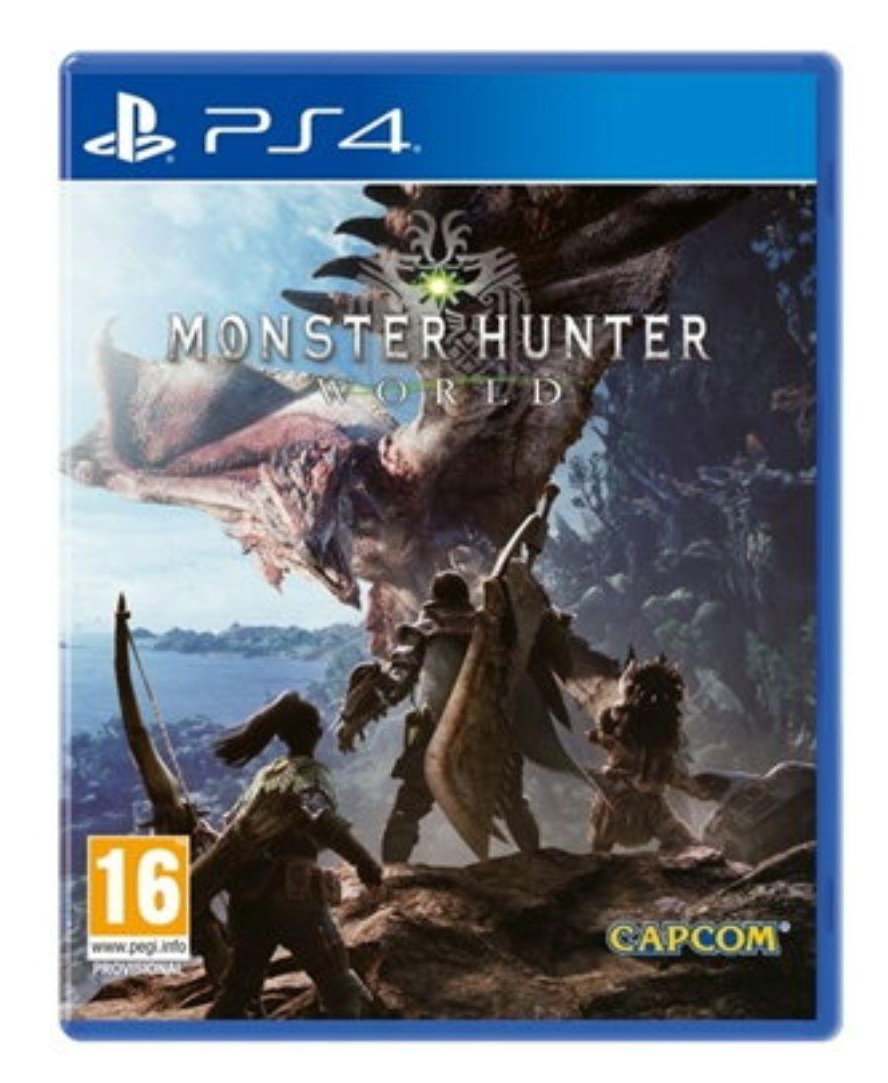 Monster Hunter World PS4 Físico