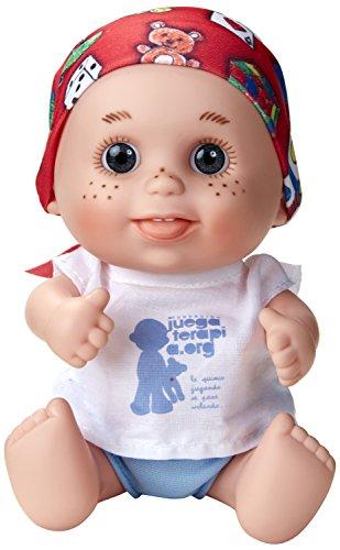 Juegaterapia - Muñeco Baby Pelón Jorge (Muñecas Arias 01