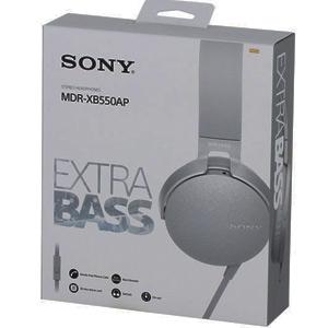 Auriculares Sony (EXTRA BASS™ MDR-XB550AP , Dj,