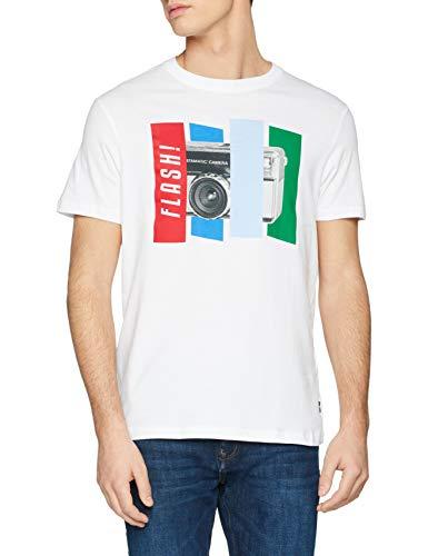 Springfield Camiseta para Hombre. Talla S