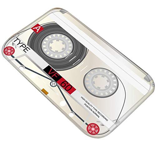 Alfombra/Felpudo con forma de cinta de Cassette Antideslizante