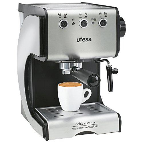 Cafetera expresso Ufesa CE7141 - café molido y monodosis