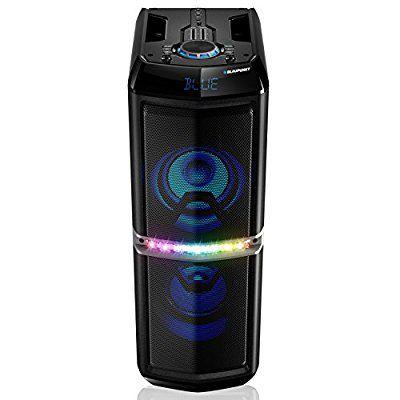 Blaupunkt altavoz con función de karaoke Bluetooth portátil