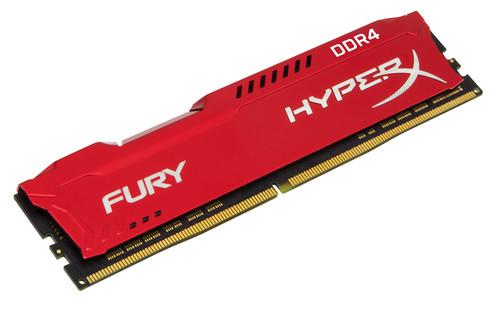 HyperX FURY Memory Red 8GB DDR4 2400MHz CL15