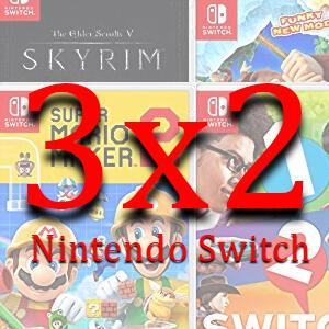 [PRIME DAY] 3x2 en juegos de Nintendo Switch