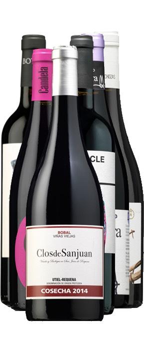 Selección de vinos marcianos. (Buena pinta para el verano!)