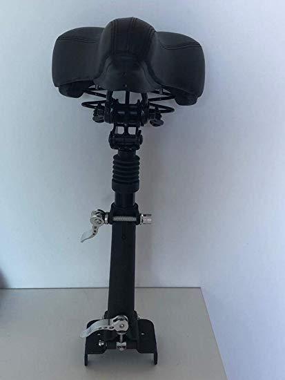 Cityboard Seat - Asiento Ajustable para Patinete Eléctrico, Adultos Unisex, Negro, Talla única