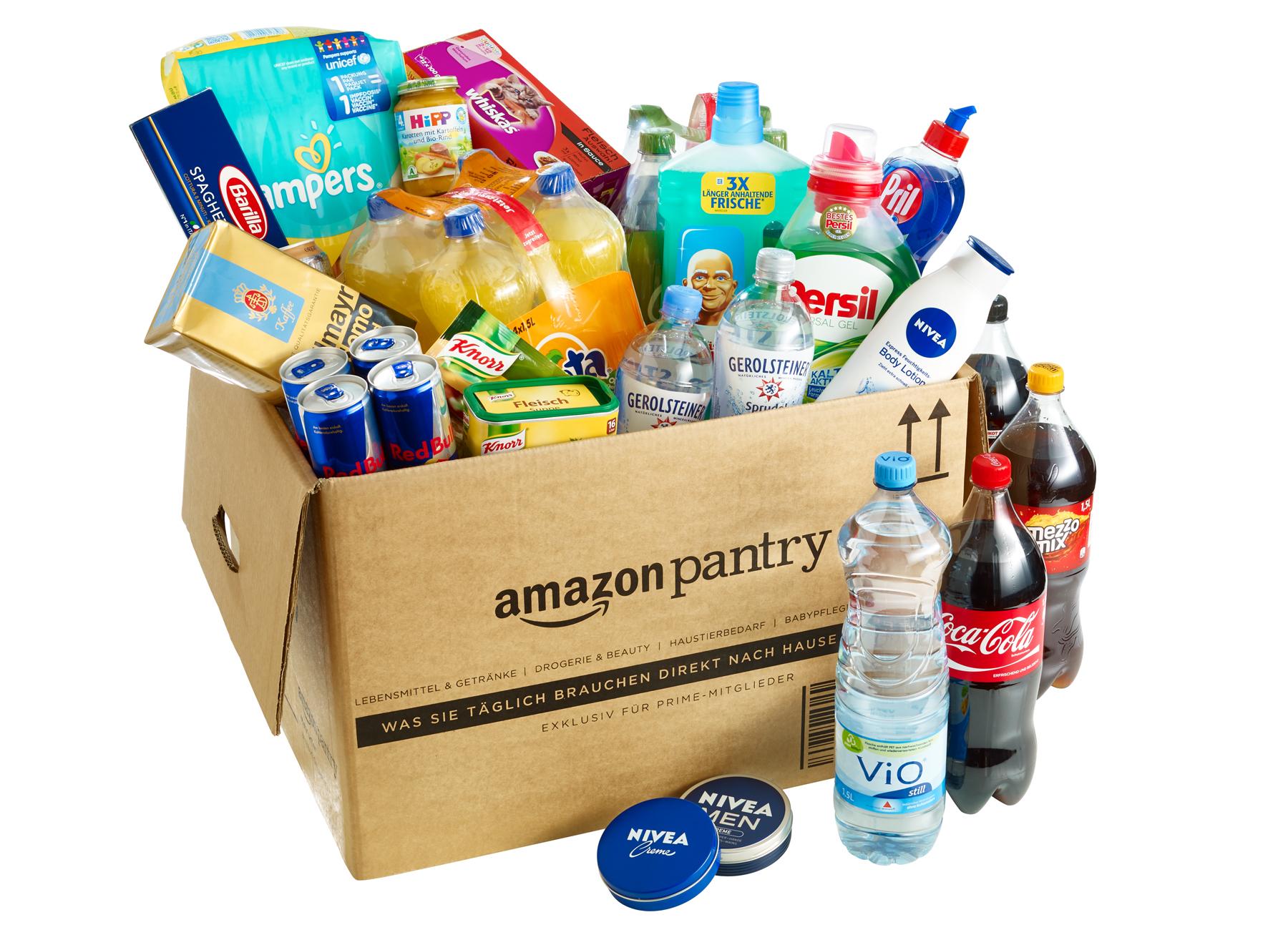 5€ GRATIS para Amazon Pantry con cualquier oferta Prime Day
