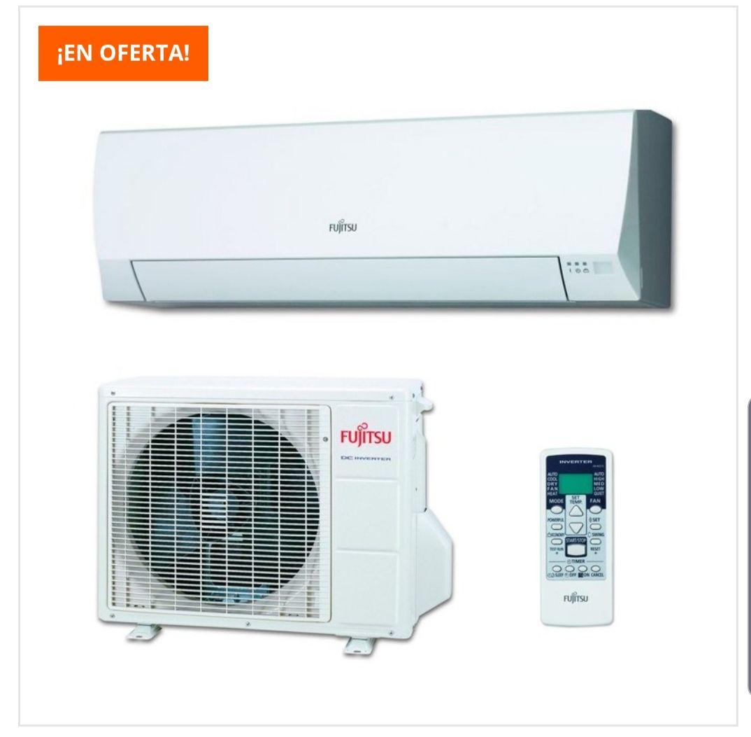 Aire acondicionado Fujitsu 2924 frig/h