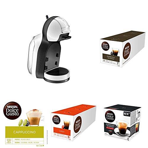 Cafetera Delonghi + 15 packs de café Dolce Gusto variado