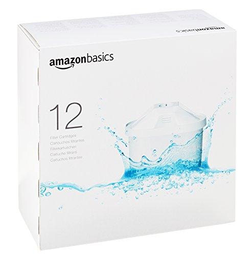 Cartuchos de filtrado de agua (12 unidades)