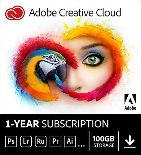 ADOBE Creative Cloud 1 año de suscripción