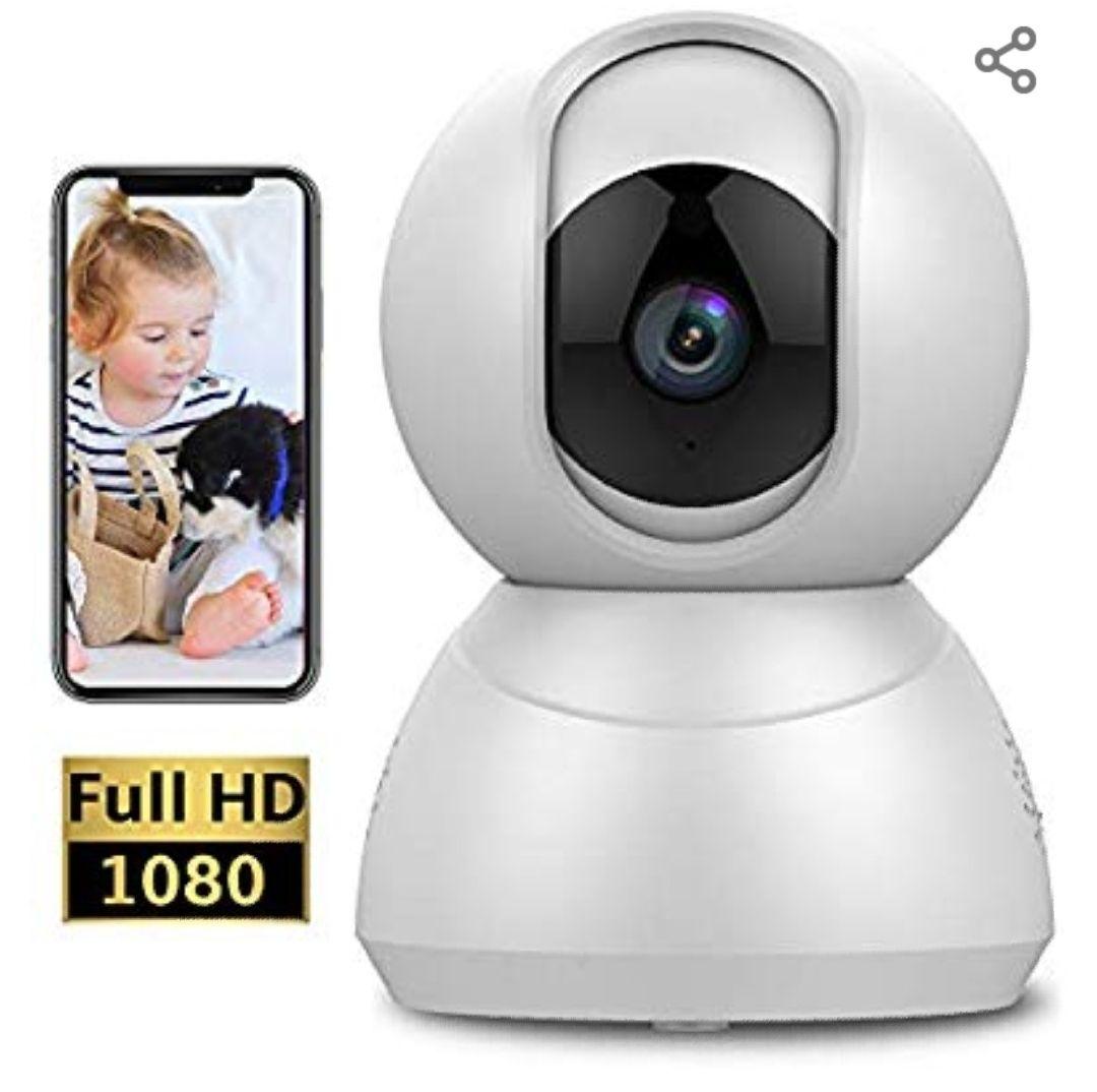 Camara vigilancia IP FullHD 360° Keyke