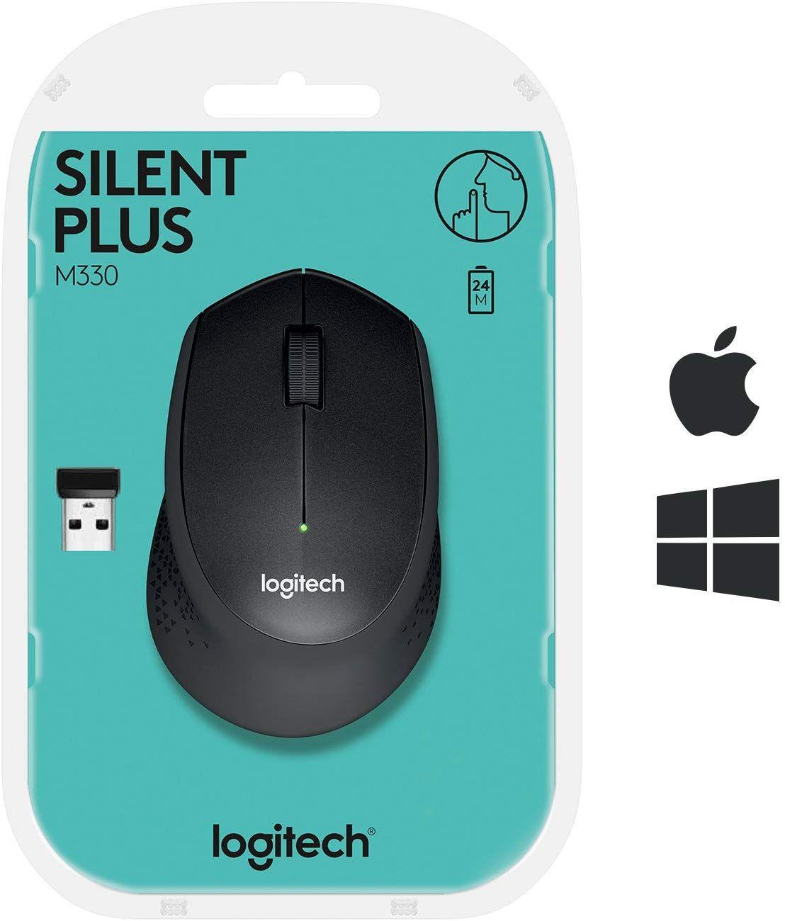 Ratón inalámbrico Logitech M330 Silent Plus