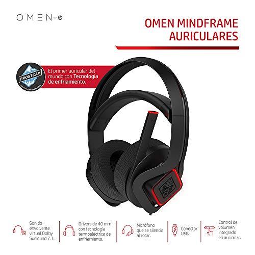 Auriculares gaming con refrigeración Omen HP