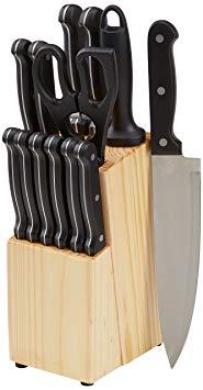 Set cuchillos AmazonBasics solo 16.7€