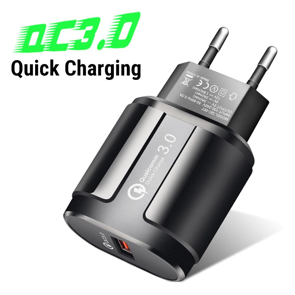 Cargador QC3.0 USB