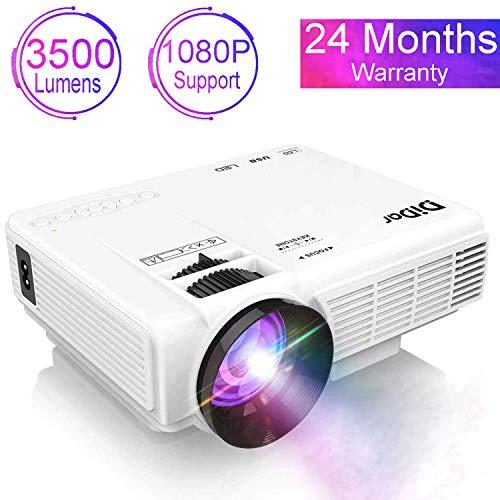 Proyector DIDAR 3500 Lumens, soporta 1080P Full HD