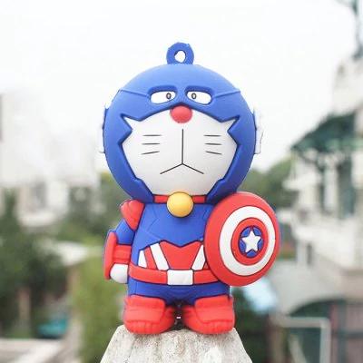 Llavero Doraemon Capitán América