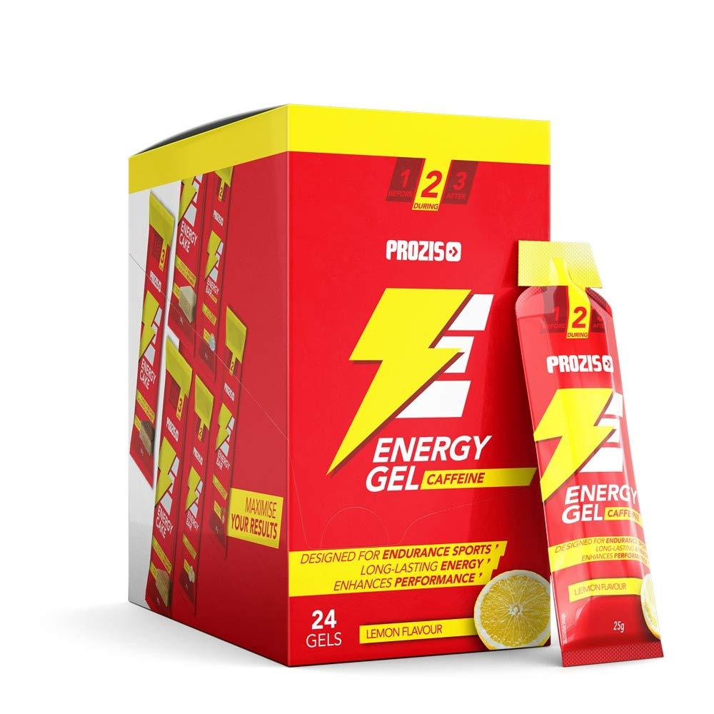 """Suplemento Dietético """"Energy Gel"""" con Beta-Alanina y Cafeína, sabor Limón - 20 Bolsitos"""