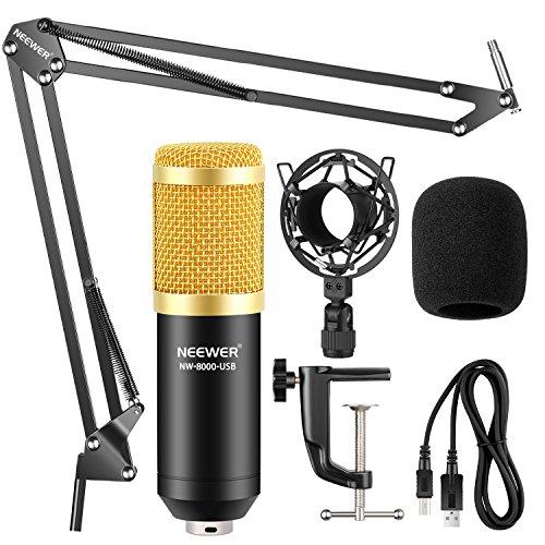 Kit Neewer NW-8000 Micrófono con alimentacion phantom