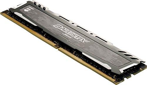 RAM DDR4 Ballistix Sport de 16GB (16GB x1), 3000 Mhz CL16 Gris
