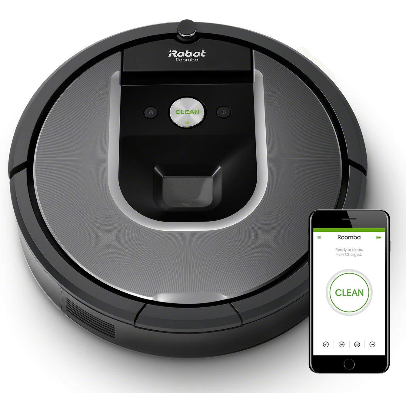 Robot Roomba 960 - Robot Aspirador Óptimo Mascotas