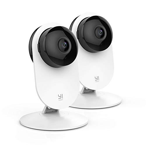 YI Cámaras de Vigilancia 1080p -  2 CÁMARAS