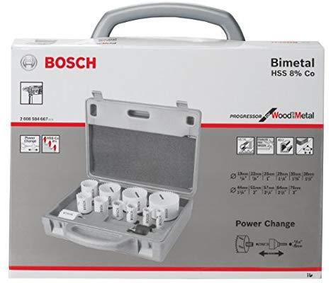 Set de sierras de coronas Bosch