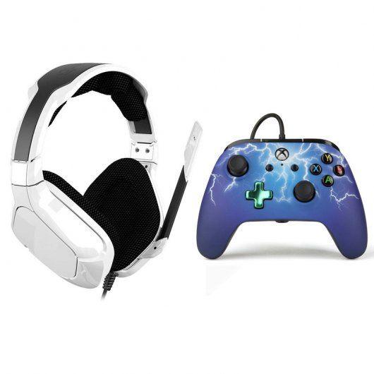 Pack mando/auriculares Xbox One