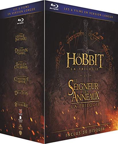 Blu-ray Pack Hobbit +  Señor de los Anillos