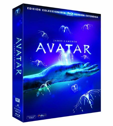 Blu-ray de Avatar, edición coleccionista de 3 discos por menos de 10 €.