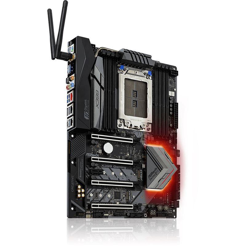 ASRock Fatal1ty X399 Professional Gaming AMD X399 So.TR4 Quad Channel DDR4 ATX Retail