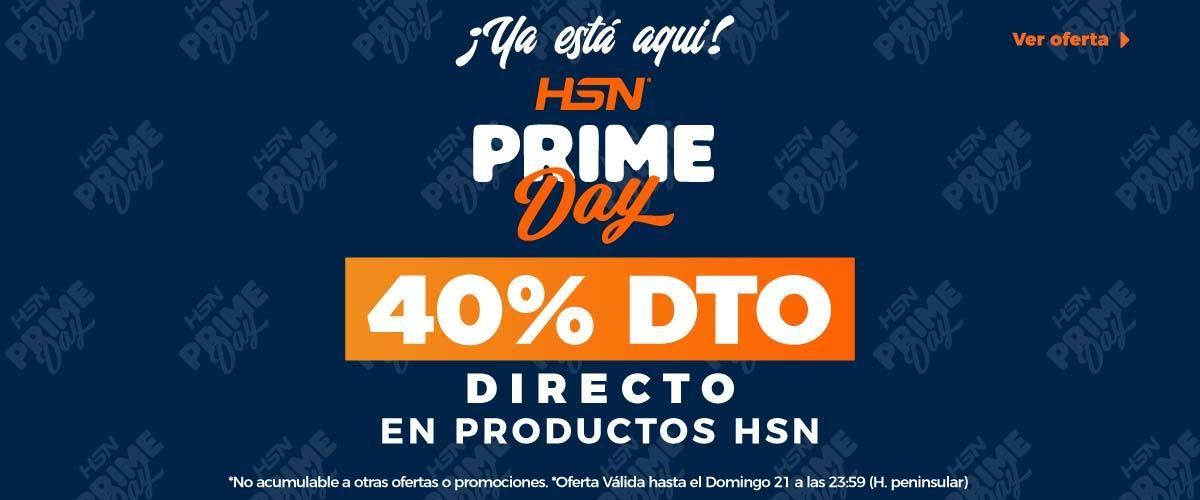 Prime day: 40% de descuento directo en HSN store.