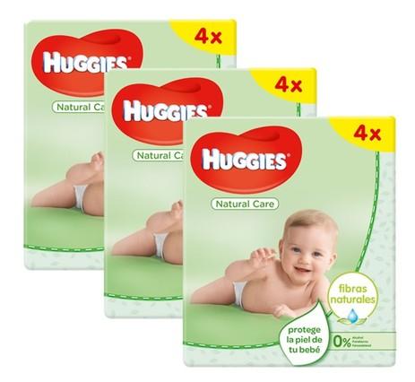 24 paquetes de toallitas de la marca Huggies