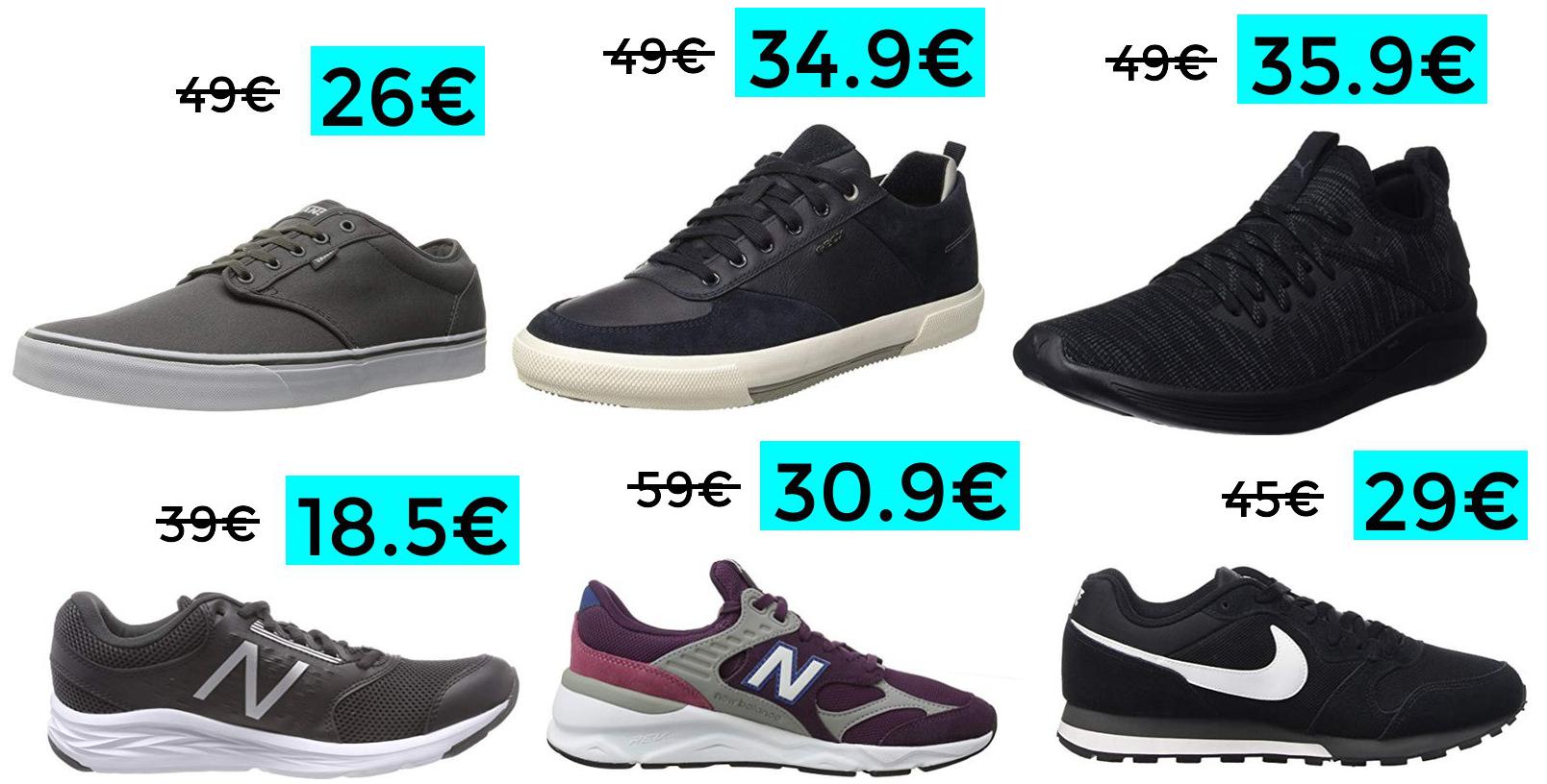 Preciazos en zapatillas de marcas TOP